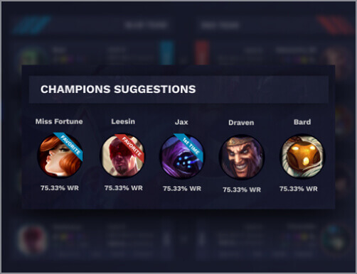 CHAMPION SUGGESTIONS